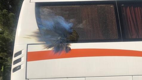 دستگیری عاملان پرتاپ نارنجک به اتوبوس پرسپولیس