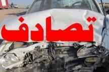 تصادف 10 خودرو در شرق پایتخت