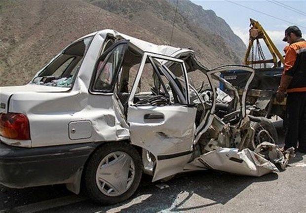 تصادف در جاده کرج - چالوس یک کشته برجای گذاشت
