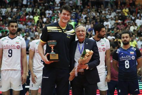 پاسخ درخشنده به اتفاق عجیب پایان والیبال قهرمانی آسیا
