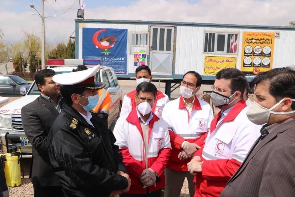 همکاری ۳۲ هزار داوطلب جمعیت هلال احمر در مبارزه با کرونا