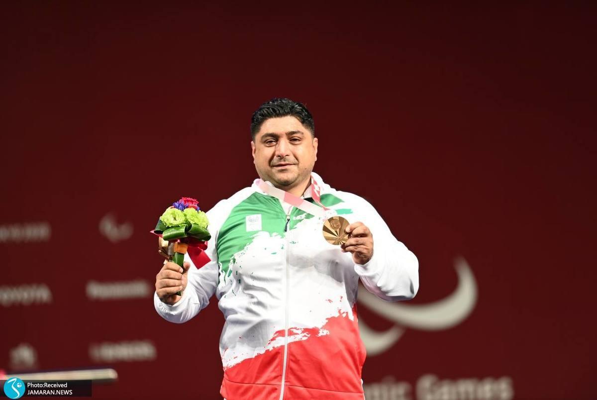 اولین مدال برنز ایران در پارالمپیک 2020 به نام سامان رضی ضرب شد +عکس اهدای مدال