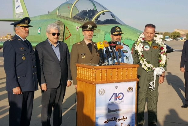وزیر دفاع: طراحی و ساخت جت یاسین نماد بیاثر کردن تحریمها است