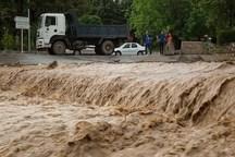 سیلاب راه ارتباطی 50روستای ریگان را مسدود کرد