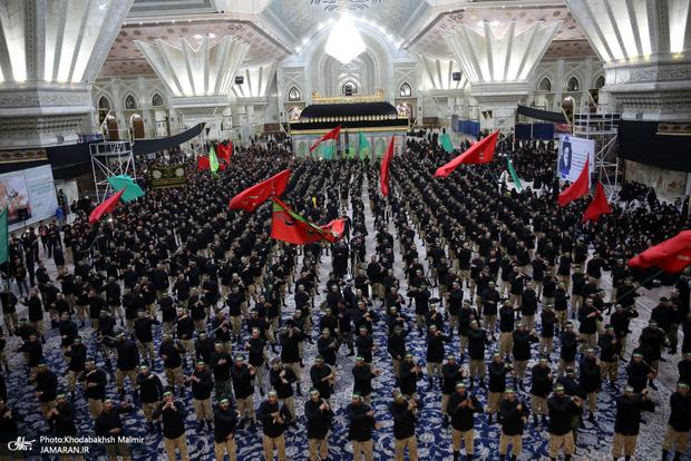 اجتماع پرشور عزاداران یزدی در حرم امام خمینی برگزار می شود