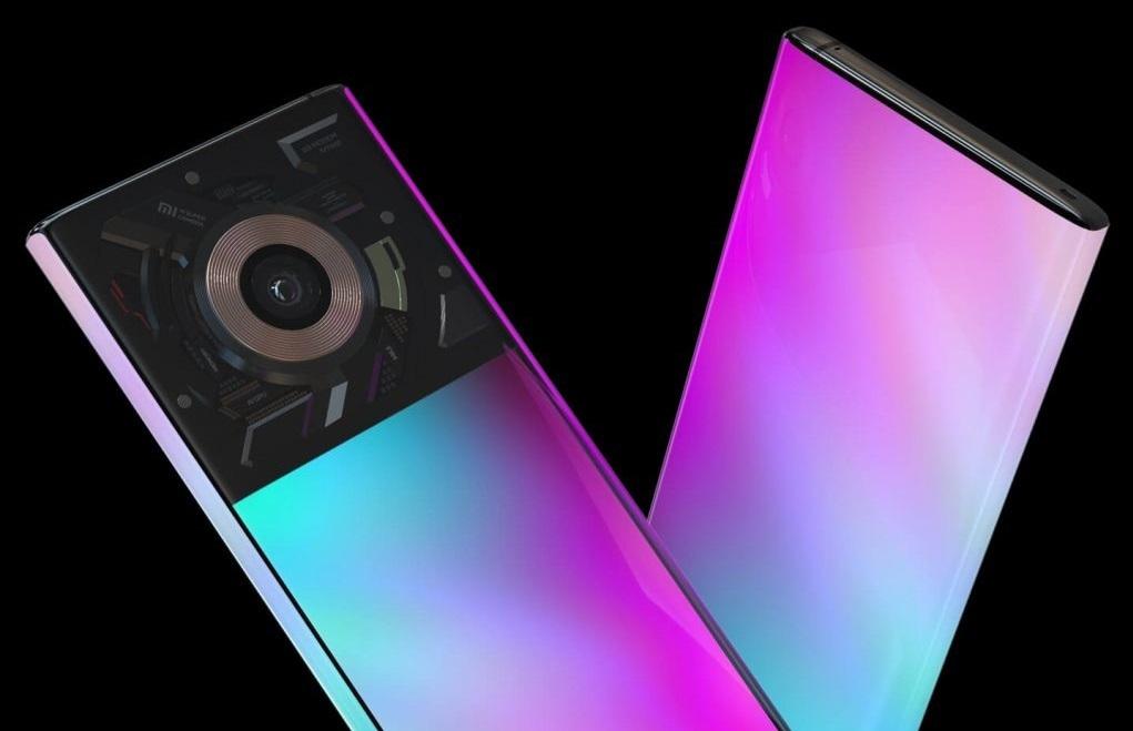 اولین گوشی هوشمند جهان با لنز مایع