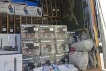 230 دستگاه انواع لوازم خانگی قاچاق در پردیس کشف شد