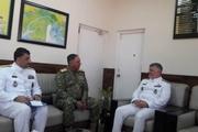 بازدید دریادار خانزادی از ظرفیتهای نیرو دریایی پاکستان