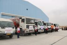 بیستمین محموله کمک های مردمی یزد به سیل زدگان کشور ارسال شد
