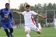 شکست استقلال مقابل تیم ملی فوتبال جوانان در دیداری دوستانه