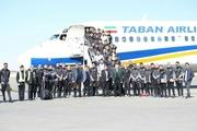 سپاهان ایران را به مقصد امارات ترک کرد + عکس