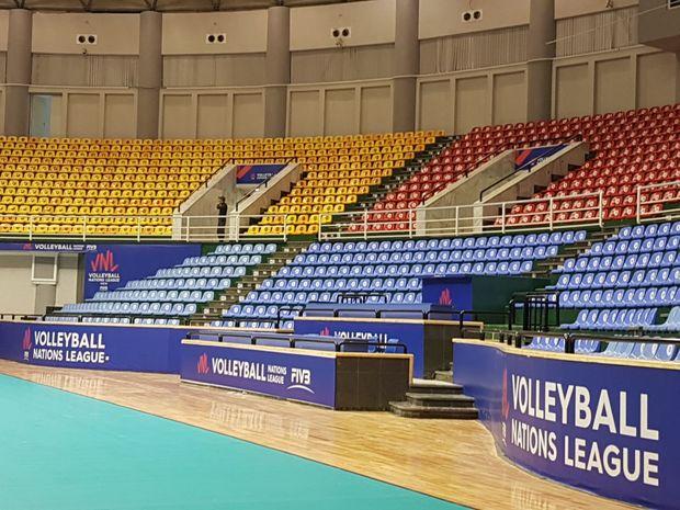 جایگاه بانوان در سالن برگزاری مسابقات لیگ ملتهای والیبال ۲۰۱۹ مهندسی نشده است