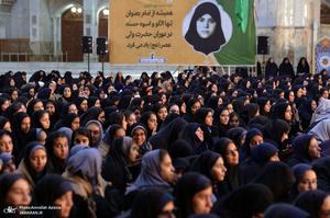 آئین افتتاحیه سراسری اردوهای راهیان نور دانش آموزی