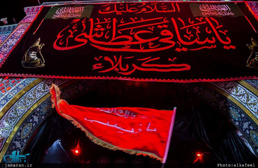 مداح : سید مجید بنی فاطمه/ افتاده به خاک شیر لشکر/ شب هشتم محرم 97