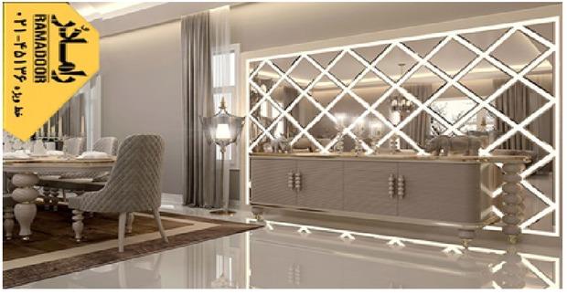 رنگ های قابل استفاده در آینه کاری منزل
