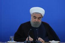روحانی درگذشت پدر شهیدان سپهری را تسلیت گفت