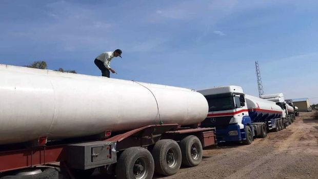 تریلی حامل ۳۲ هزار لیتر نفتگاز قاچاق در یزد توقیف شد
