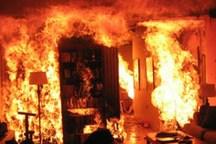 آتش نشانان کرمانی سه نفر را از دل آتش نجات دادند