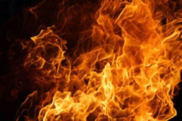 ببینید/ لحظه آغاز آتش سوزی در پالایشگاه تهران