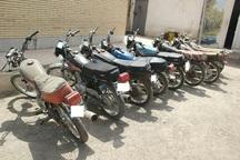 سارق 13 فقره سرقت موتورسیکلت در گنبدکاووس دستگیر شد
