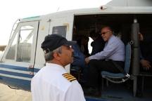 وزیر نفت برای بررسی تاسیسات نفتی وارد خوزستان شد