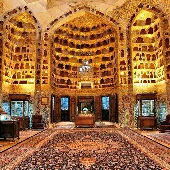 بازدید گردشگران از اثر ثبت جهانی بقعه شیخ صفیالدین اردبیلی افزایش یافت
