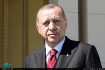 اردوغان: با کمک ایران و روسیه منطقه را نجات میدهیم