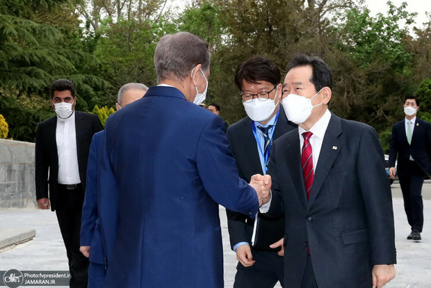 نخست وزیر کره جنوبی: باید راهی برای آزادسازی منابع ایرانی یافت