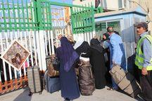 مرز خسروی برای تردد کاروانهای زائر عتبات عالیات باز است
