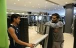 حضور بازیکن سابق پرسپولیس در تمرین استقلال/ عکس