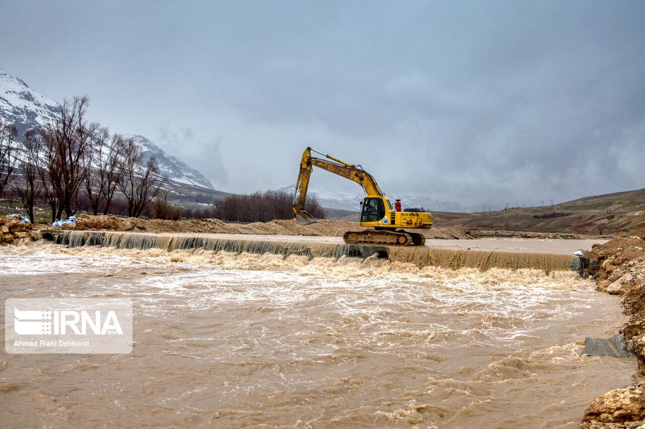 آمادگی شیروانیها برای مقابله با سیلاب