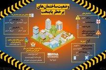 ۲۱ هزار ساختمان پرخطر در پایتخت+ اینفوگرافیک
