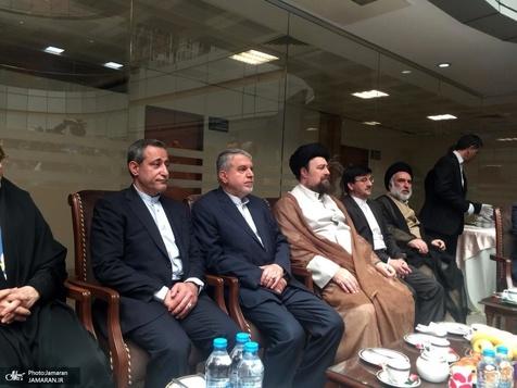 دیدار صمیمانه یادگار امام با پیشکسوتان در حاشیه بازدید از موزه ورزش