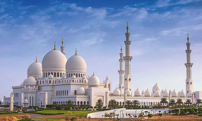مسجد بزرگ «شیخ زاید»