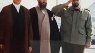 عکسی که محسن هاشمی از سردار شهید سلیمانی در کنار آیت الله هاشمی منتشر کرد