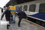 لوکوموتیو ناوگان آلِستوم راهآهن در بافق بازسازی شد