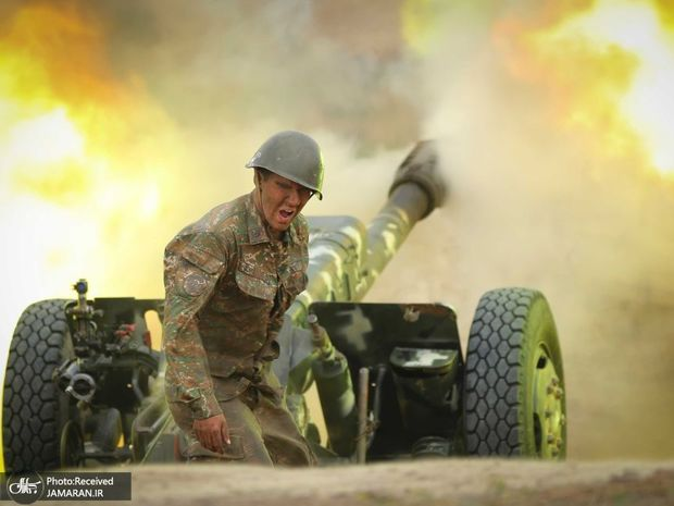 اصابت 10 راکت جنگ قره باغ به روستاهای خداآفرین/ تخریب یک واحد مسکونی