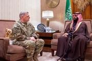 دیدار رییس ستاد مشترک ارتش آمریکا و بن سلمان