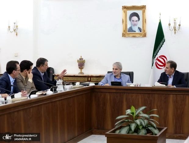 جهانگیری: پروژه قطار سریع السیر تهران – قم – اصفهان بعنوان پروژهای ملی باید هرچه سریعتر تعیین تکلیف شود