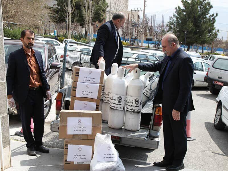 بانک ملی بخشی از نیازهای پزشکی البرز را تامین کرد