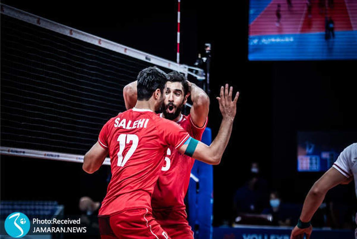 آمریکا پنجمین قربانی والیبال ایران؛ شاگردان آلکنو 15 شدند! +عکس و ویدیو به همراه آمار و حواشی