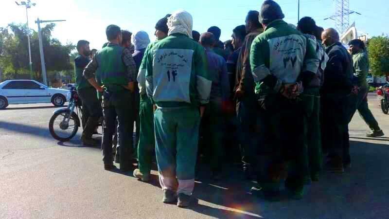 اعتراض کارگران شهرداری دزفول به تعویق حقوق