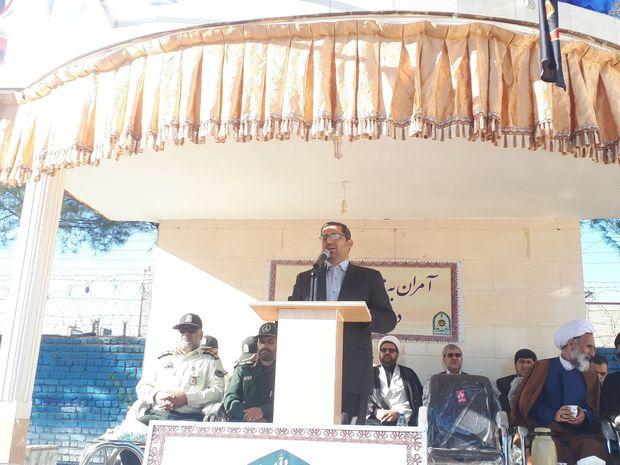 فرماندار گناباد: اقتدار نیروی انتظامی ضامن امنیت پایدار است