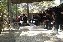 طرح آموزش امداد و نجات  سربازان وظیفه در کرج اجرا شد