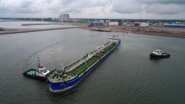 شمار کشتی های پهلوگرفته در بندر کاسپین به 64 فروند رسید