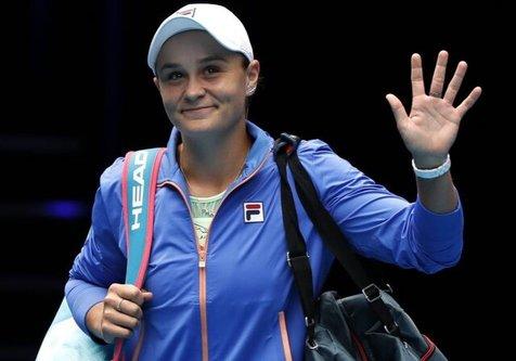انصراف بانوی شماره یک تنیس جهان از شرکت در اپن آمریکا برای ترس از کرونا