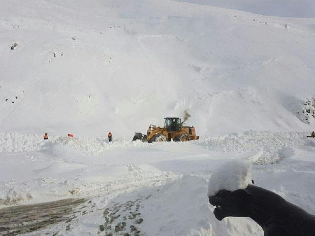 نگهبان گرفتار در کولاک برف کوهرنگ نجات یافت