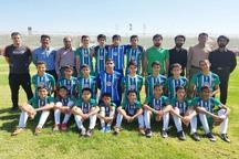 مسابقات فوتبال گروه هفت نونهالان کشور در یزد آغاز شد