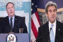 حمله پمپئو به جان کری بر سر ایران