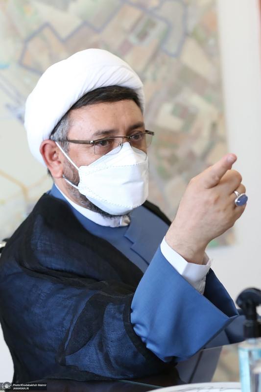دیدار سرپرست موسسه تنظیم و نشر آثار امام خمینی(س) با رئیس شورای اسلامی شهر مشهد